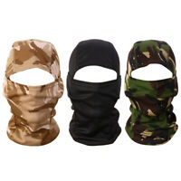 3D Camouflage Camo Headgear Balaclava Face for Hunting Fishing #JT1