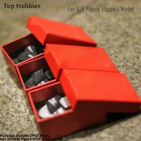 """1/6 Scale Slippers Model with Shoes Box for 12"""" Action Figure Body Hot Toys"""