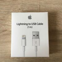 Genuine 1M Apple Lightning USB Charger Lead Cable For iPhone 7 iPhone 7 Plus