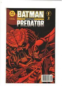 Batman versus Predator #2 NM- 9.2 Newsstand DC/Dark Horse Comics 1991