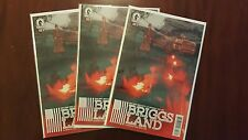 BRIGGS LAND 3 - BRIAN WOOD STORY -  AMC SHOW COMING NM/M OPENED/UNREAD CONDITION