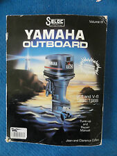 Outboard Shop Service Manual Yamaha V4 & V6 1984--1988 ISBN0893300233