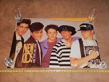 Original 1990 New Kids On The Block Magic Summer Concert Poster, Nkotb, Nos