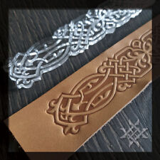 Celtic Belt Embossing Stamp #S-002. For embossing VegTan Tooling Leather