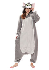 """TOM"" from Tom and Jerry Sazac Kigurumi Adult Animal Halloween Costume Pajama PJ"