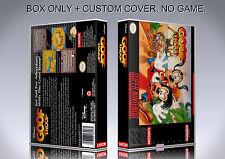 GOOF TROOP. NTSC VERSION. Box/Case. Super Nintendo. BOX + COVER. (NO GAME).