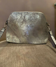 Frederic T Paris Silver Grey Shoulder Bag