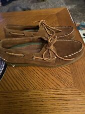 New SPEERY TOP-SIDER Mens A/O 2-Eye Lace BOAT SHOES STS19436 Suede Size 11