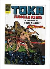 "TOKA #10 [1967 VG+] ""THE THREE TRIALS OF TOKA""  ANTS COVER!"