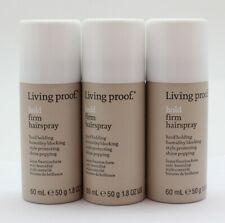3X Living Proof Hold Firm Hairspray 1.8 OZ EA (NWOB)