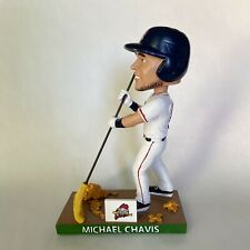 Boston Red Sox Portland Sea Dogs Michael Chavis Raking 2020 Bobblehead SGA