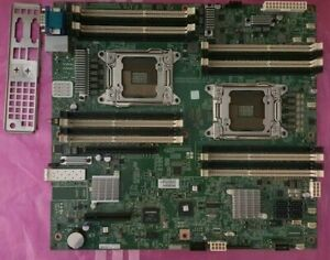 FOXCONN/CHENBRO T2491601 DUAL SOCKET LGA2011 EATX MOTHERBOARD C602 CHIPSET