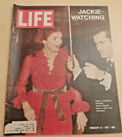 Life Magazine February 12 1971 - Crime at the Airports, Jackie Onassis, more