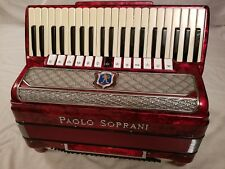 PAOLO SOPRANI 120 Bass full size accordion.