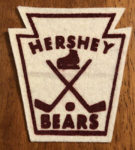 RARE Vintage AHL American Hockey League Hershey Bears Cloth Patch