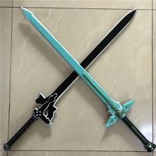 SAO Sword Art Online Dark Repulser & Elucidator Asuna Kirito 1:1 80cm Cosplay