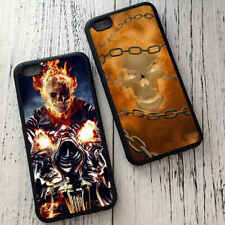 Marvel Superhero Ghost Rider Tpu Phone Case Cover For iPhone 8 7 6 X XR XS Plus