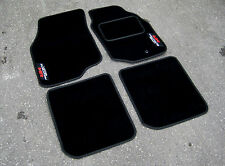 DELUXE Car Mats - Mitsubishi Lancer Evolution 8 (Evo VIII) + Evolution MR Logos