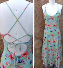 Betsy Johnson Vintage 1990s Floral Print Dress Size S/M