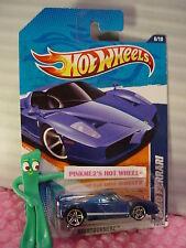 vhtf 2011 Hot Wheels ENZO FERRARI #116☆Walmart Exclusive Blue; pr5☆Nightburnerz☆