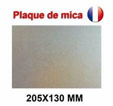 Plaque de Mica  à découper Pour Four Micro-Ondes Universelle 205X130 mm France