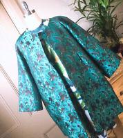 🌈 Beautiful Exclusive gorman x Rebekah Callaghan printed Coat Jacket SZ 16 XL