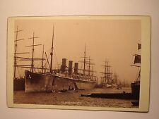 Hamburg - New York - Schiff / Hapag-Dampfer Normannia im Hafen / KAB