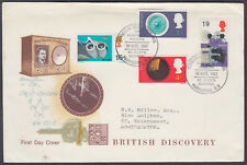 1967 British Discovery scarce design FDC; St Mary's Hospital Paddington SHS