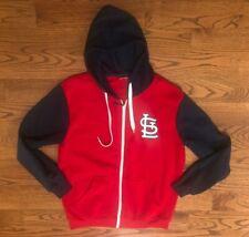 St. Louis Cardinals Baseball Full Zip Hoodie Sweatshirt Men's XL