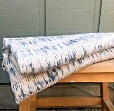 Designer Fabric   Upholstery Grade   100% Linen   Tie dye   Retail Value $1000