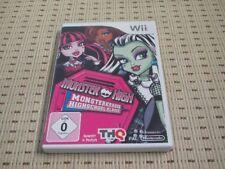 Monster High Monsterkrasse Highschool-Klasse für Nintendo Wii und Wii U *OVP*
