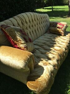 Lounge Antique French Luxury 3 Seater