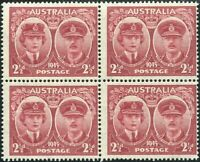 Australia 1945 SG209 2½d Gloucester block MNH