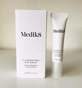 Medik8 Illuminating Eye Balm Instant Brighten Eye Formula 15ml BNIB Full Size