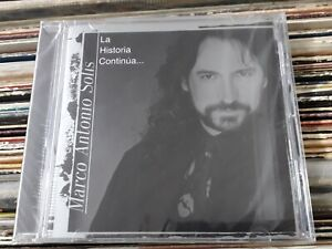 Marco Antonio Solis La Historia Continua CD New Sealed Nuevo
