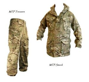 MTP PCS OFFER Windproof SMOCK/JACKET + TROUSERS British Army/Military Grade 1