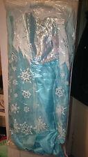 Disney Frozen Elsa Nieve Reina Disfraz Para Niños Tienda Oficial Nuevo Y Sellado - 7-8 años