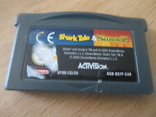 jeu game boy advance shark tale & shrek 2