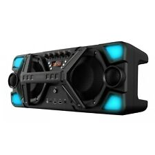 5.25x2 Inch Bluetooth Portable Party Speaker Woofer With Mic Aux Usb Sd Input