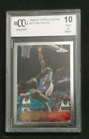 1996 Topps Chrome #217 Ray Allen  RC Rookie BCCG 10 PSA 10 MINT
