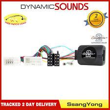 CTSSY007.2 Volante Adaptador de Botones de Palanca para Ssangyong Tivoli 2015>