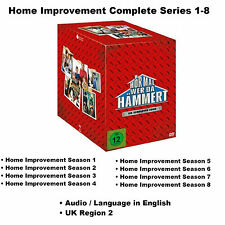 Home Improvement Complete Series 1-8 Seasons 1 2 3 4 5 6 7 8 BoxSet [28 DVD] NEW