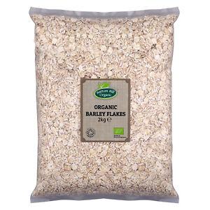 Organic Barley Flakes 2kg Certified Organic