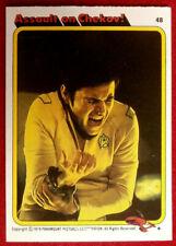 STAR TREK - MOVIE - Card #48 - ASSAULT ON CHEKOV! - TOPPS 1979