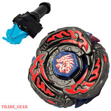 BB108 L-Drago Destroy Destructor BEYBLADE Master Fusion Metal+GRIP+BLUE LAUNCHER