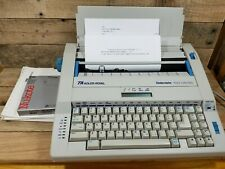 Adler Royal Gabriele 100 Sc Typewriter Withcase And Keyboard Lid W Box Amp Paperwork