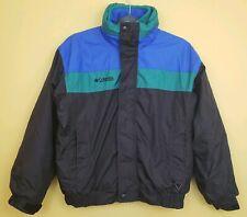 Vintage Columbia Bugaboo Ski Jacket Coat Boy 14/16  Full Zip Interchange