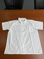 Uncommon Threads Mens Unisex Chef Coat White Size Large 2j