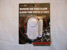 Wireless Home Window, Door, Cabinet, Burglar Security Alarm w/ Magnetic Sensor.
