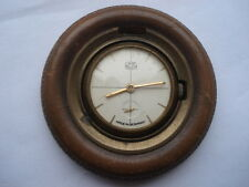 Escasos C1950S UMF Ruhla alemán hizo Rueda & forma de neumáticos Reloj Giratorio al viento